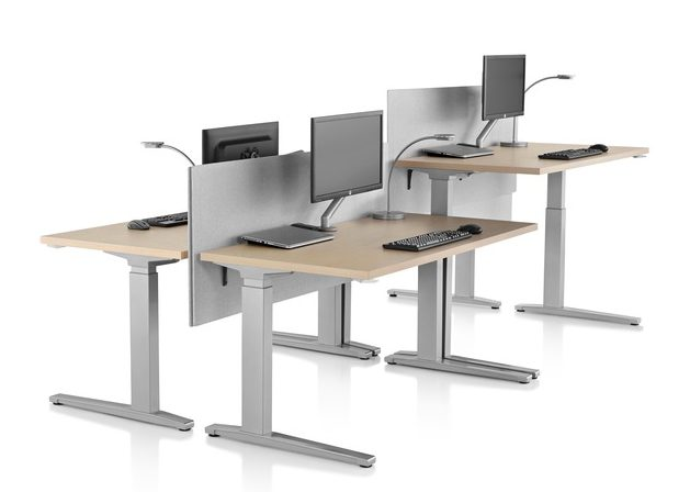 Herman Miller Renew Sit-to-Stand Desk available for order at Workspace Group (WSG)