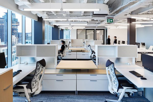Top 3 Projects: Offices at Mandrake with Herman Miller workstations and chairs