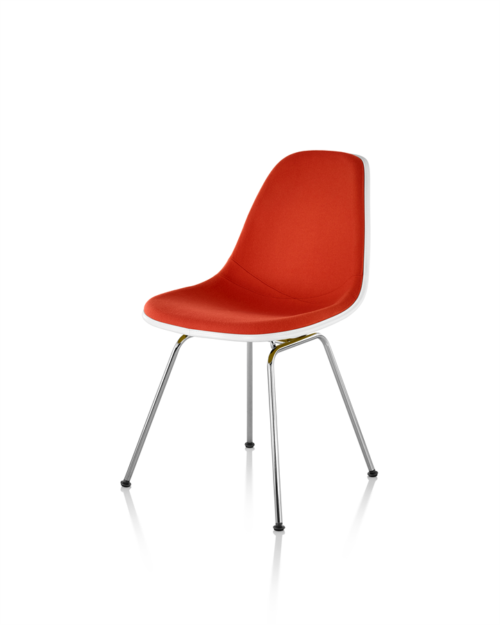 Eames Upholstered Molded Fibreglass Chair - available at Workspace Group (WSG).