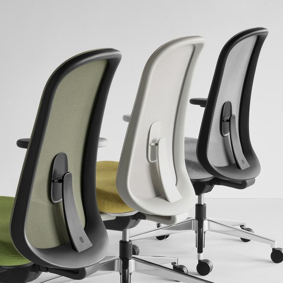 Herman Miller's Lino Chair - available for order at Workspace Group (WSG).