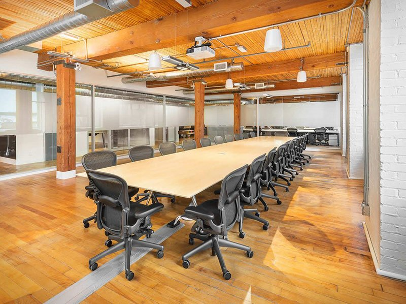 Top 3 project: Dyson office with high tech boardroom table and Aeron Chair from WSG.